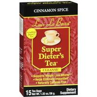 2 Pack - Laci Le Beau Super Dieter's Tea Cinnamon Spice 15 Each