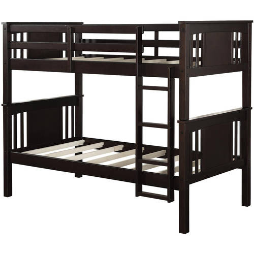 Better Homes and Gardens Flynn Twin Wood Bunk Bed, Multiple Colors by Dorel Asia