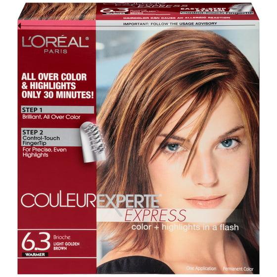 Loreal Couleur Experte Hair Color Light Golden Brown Brioche
