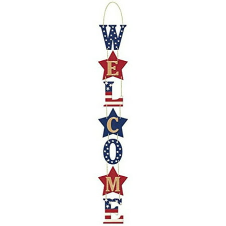 Americana Welcome Sign (Wedding Welcome Signs)