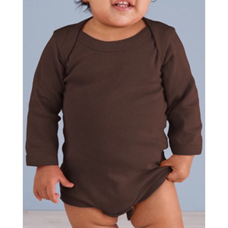 Rabbit Skins Infant Long-Sleeve Baby Rib Bodysuit - Skin Bodysuit