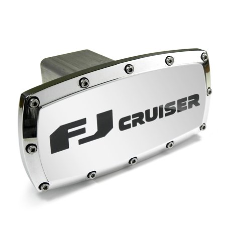 Toyota FJ Cruiser Engraved Billet Aluminum Tow Hitch Cover
