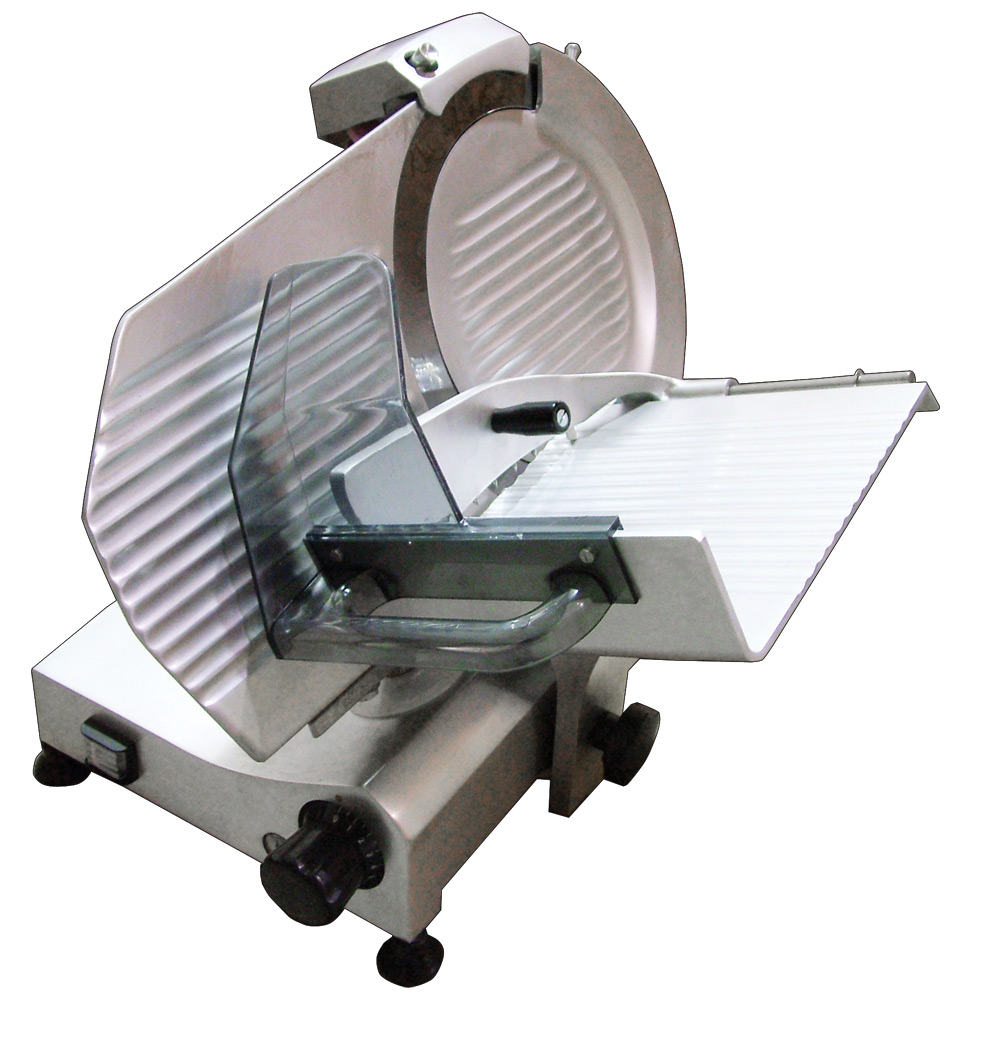 """Omcan Meat Slicer  11""""/275mm Blade with .33 Hp Motor 110/60 275E"""