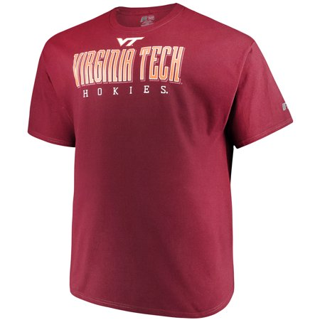 - Men's Russell Maroon Virginia Tech Hokies Hokies Big & Tall Classic T-Shirt