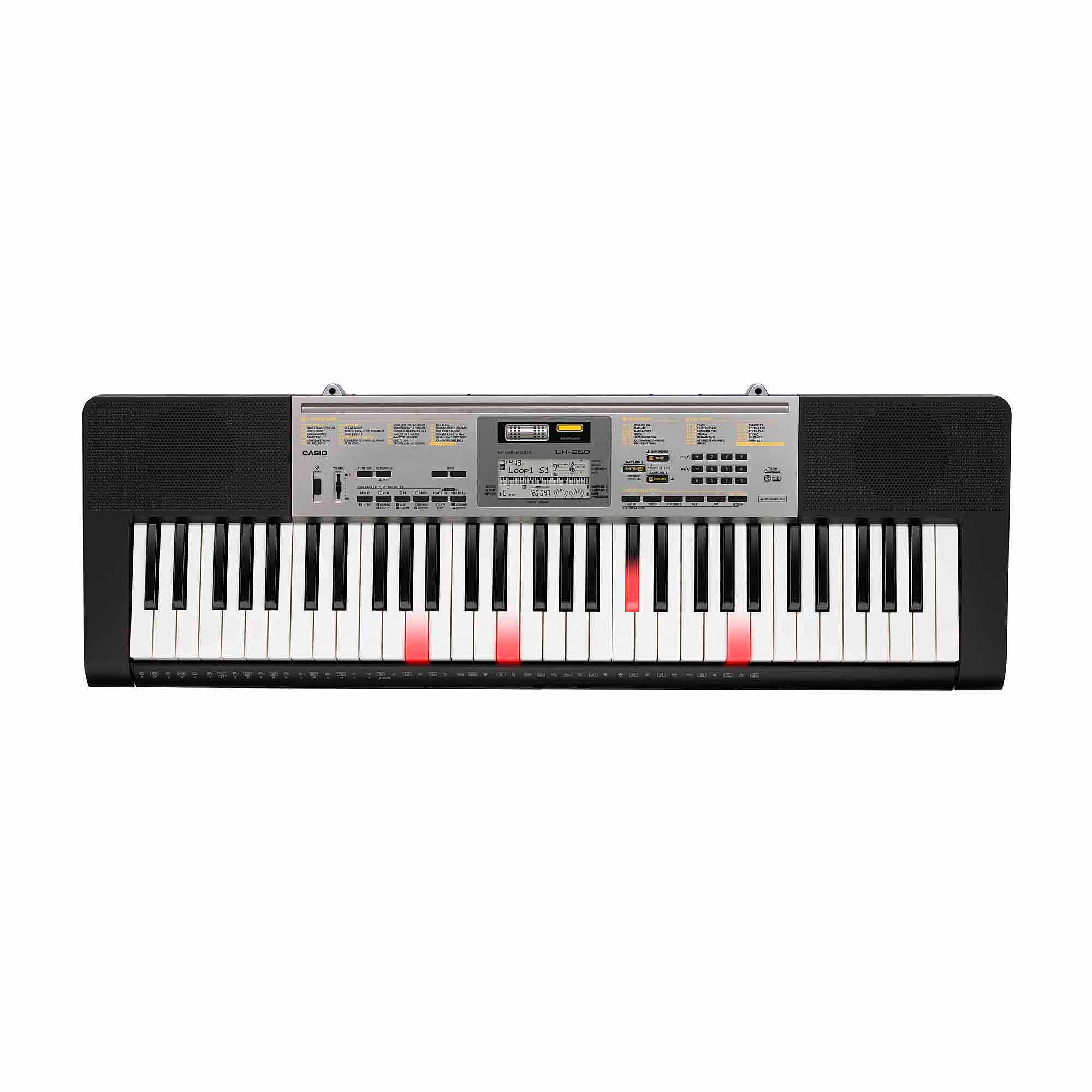 Casio LK-260 61-Key Portable Touch-Sensitive Personal Keyboard with AHL Technology by Generic