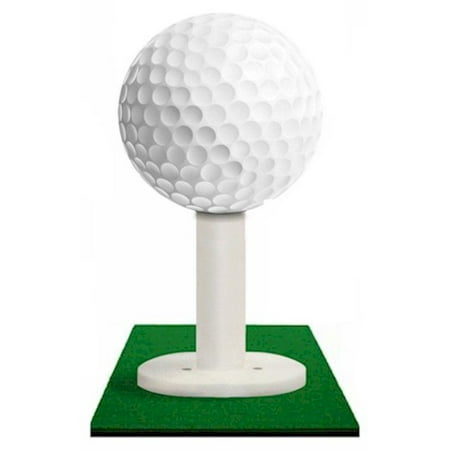 3 Pack Rubber Golf Tees for Practice & Driving Range Mats - Available in Five -