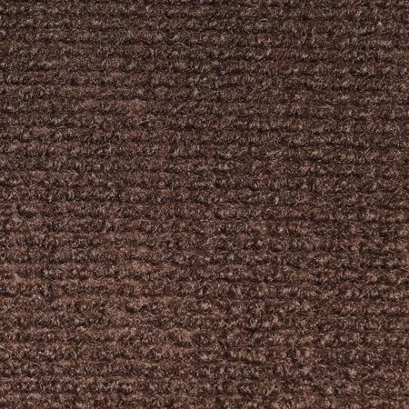 Indoor/Outdoor Carpet with Rubber Marine Backing - Dark Brown 6' x 10' - Several Sizes Available - Carpet Flooring for Patio, Porch, Deck, Boat, Basement or Garage ()