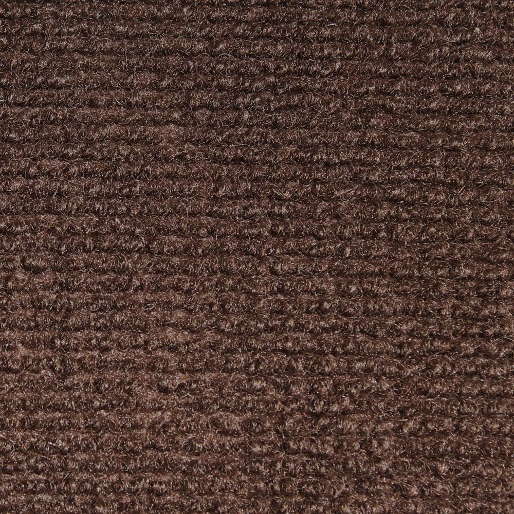 Indoor/Outdoor Carpet With Rubber Marine Backing   Dark Brown 6u0027 X 10u0027