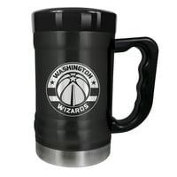 Washington Wizards 15oz. Stealth Coach Coffee Mug - Black - No Size