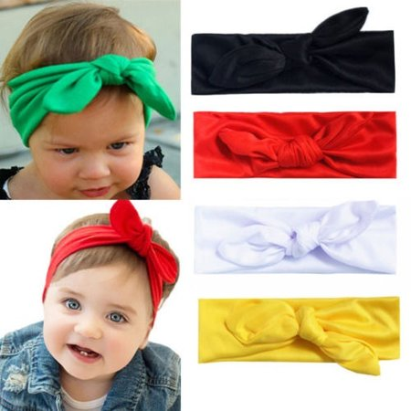 Cute 1Pcs Kids Girl Baby Chiffon Toddler Flower Bow Headband Hair Band Headwear](Chiffon Bows)