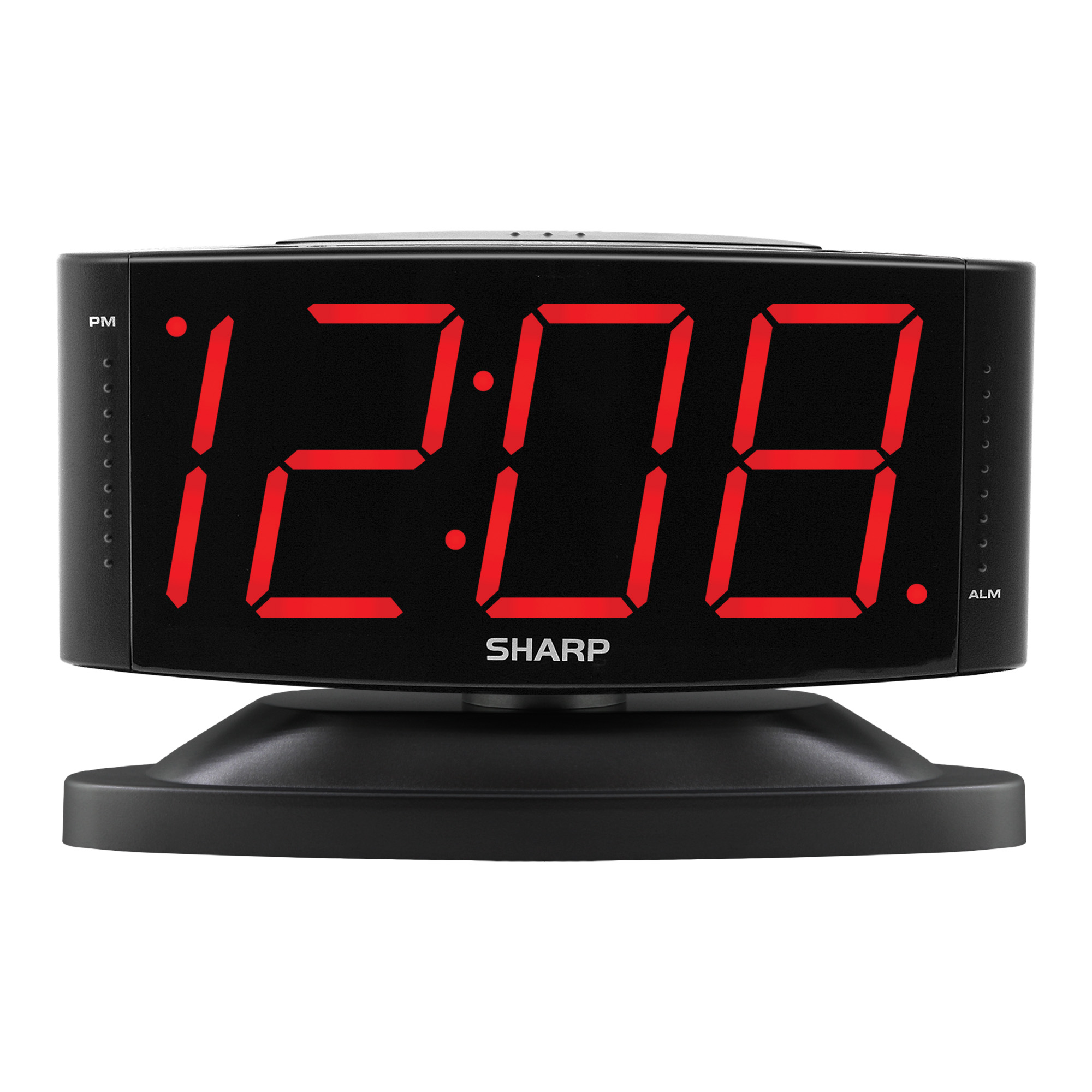 Alarm Clock Large Digital LED Display Portable Battery Wall Clock LED Lamp HOT!!