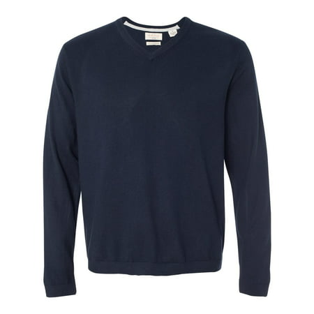 Weatherproof Men's Vintage Cotton Cashmere V-Neck Sweater , Style 151377