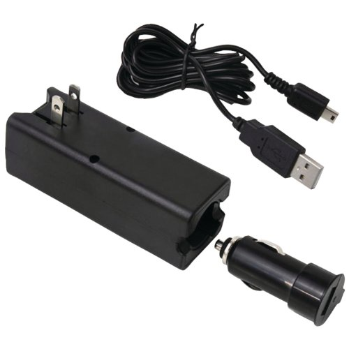 Rand McNally 3-in-1 Auto/AC Adapter - 5 V DC For GPS Navigator, Cellular Phone