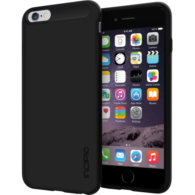 iPhone 6S Plus Case, Incipio NGP Case [Flexible] Cover fits both Apple iPhone 6 Plus, iPhone 6S Plus - Translucent Black