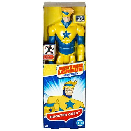 Mattel DC Comics Justice League Action Booster Gold Figure -