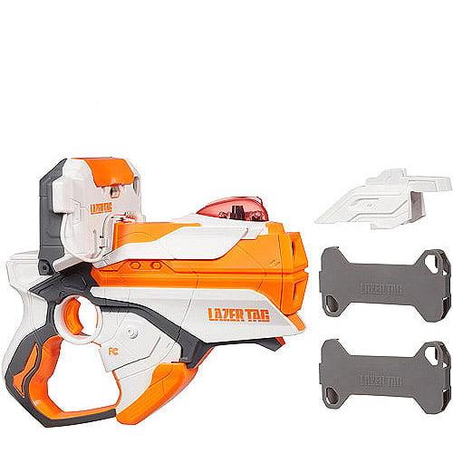 Lazer Tag Single Blaster Pack, White