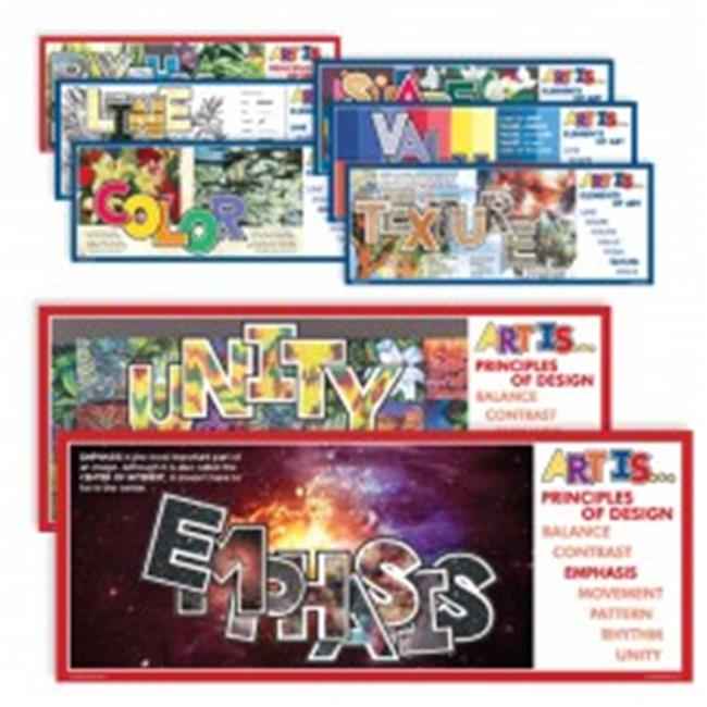 American Educational CP7244 Art is Elements & Principles Poster - image 1 of 1