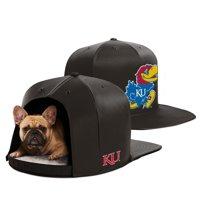 Kansas Jayhawks Medium Pet Bed - Black - M