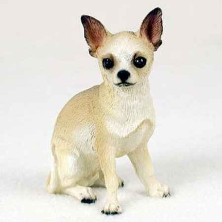 DF06B CON Chihuahua Tan & White Standard Figurine
