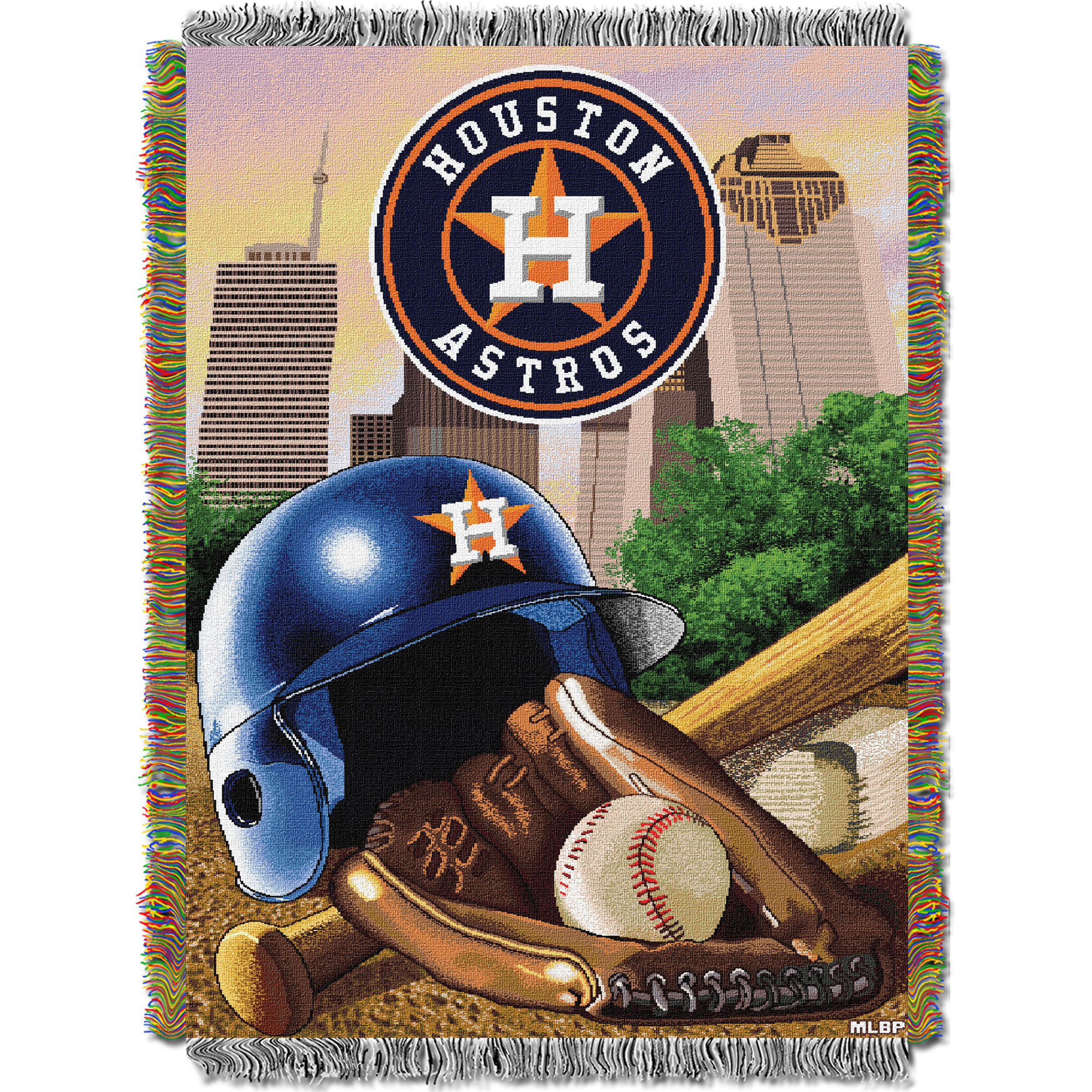 Houston Astros The Northwest Company 48'' x 60'' Home Advantage Woven Throw - No Size