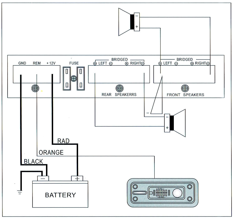 3800W High-power Amplifier Subwoofer 12V 4 Channel Truck Car Stereo Audio Speaker Amp 360? Round Sound Aluminum Alloy - image 10 de 11