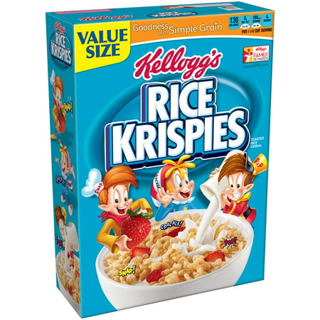 Kelloggs Rice Krispies Cereal Family Size  24 Ounce