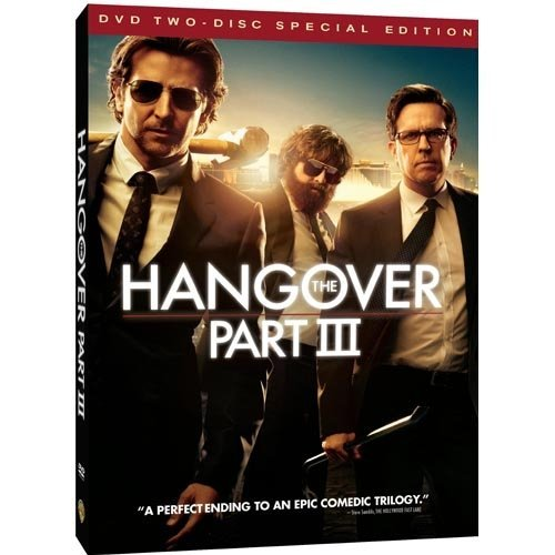 Hangover III (DVD + Digital With UltraViolet) (With INSTAWATCH) (Widescreen)