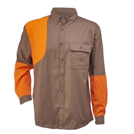 Mossy Oak Tan and Blaze Orange Upland Shirt