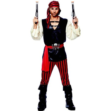 Feared Pirate of the Seas Adult Costume
