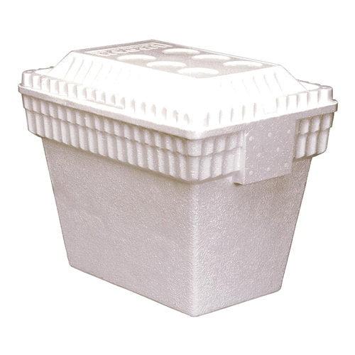 LIFOAM 30-Quart Styrofoam Cooler