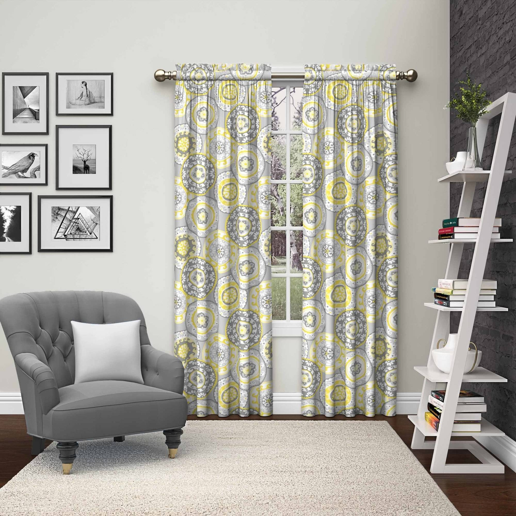 Pairs to Go Bradway 2 Pack Window Curtains
