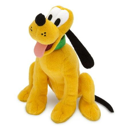 Plush Original Tag (Disney Store Pluto Plush Mini Bean Bag 8'' New with Tag )