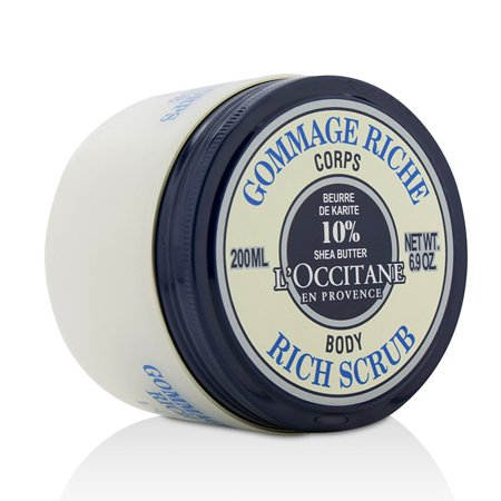 L'Occitane Shea Butter Rich Body Scrub - 200ml/6.9oz
