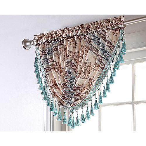 Fairview Waterfall Window Valance