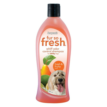 (Sergeants 03806 18 oz Fruity Fur So Fresh Whiff Odor Control Shampoo)