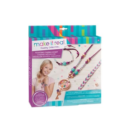Blooming Creativity Jewelry Kit, Kids DIY Floating Charm Locket - Floating Lockets And Charms