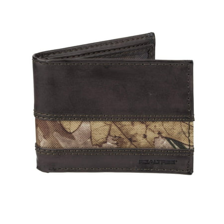 RealTree Extra Capacity Slimfold Camouflage Wallet for Men with Gift Box