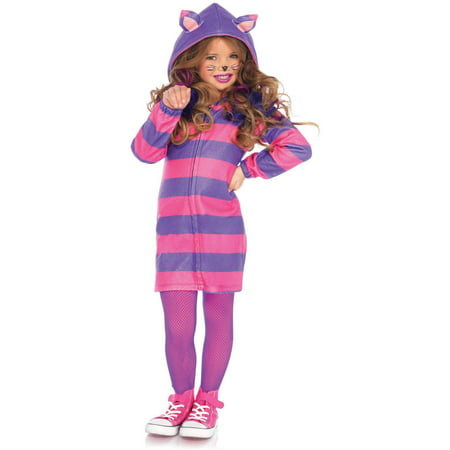 Leg Avenue Cheshire Cat Cozy Kids' Halloween Costume - Cheshire Ny Halloween