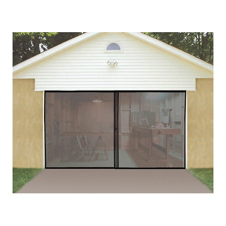 Roll Up Bug Screen Door for Single or One Car (Centurion Roll Up Garage Door Motor Price)