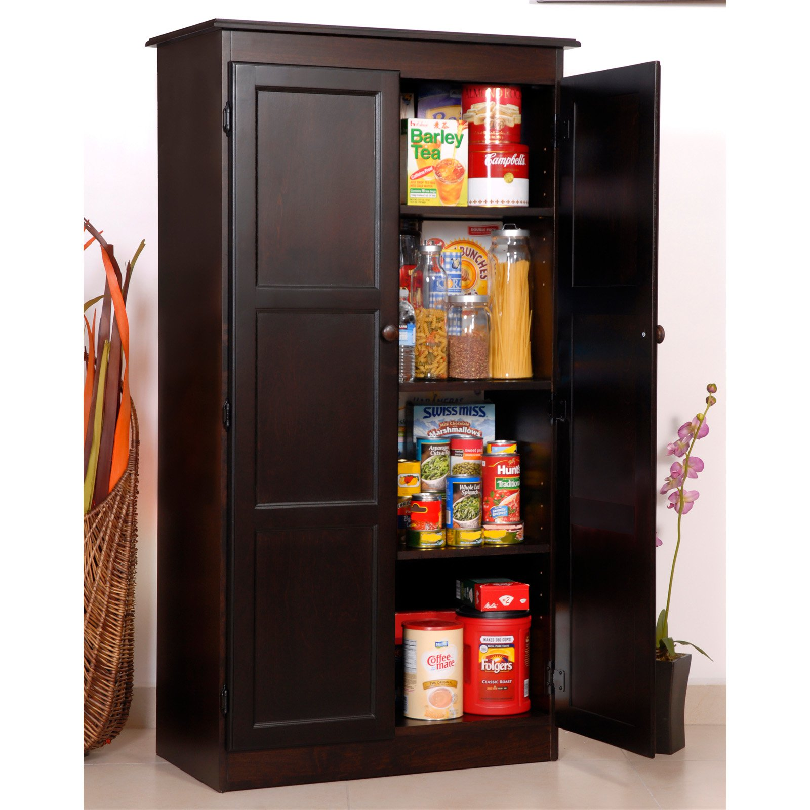 Concepts in Wood Espresso KT613A Storage/Utility Closet