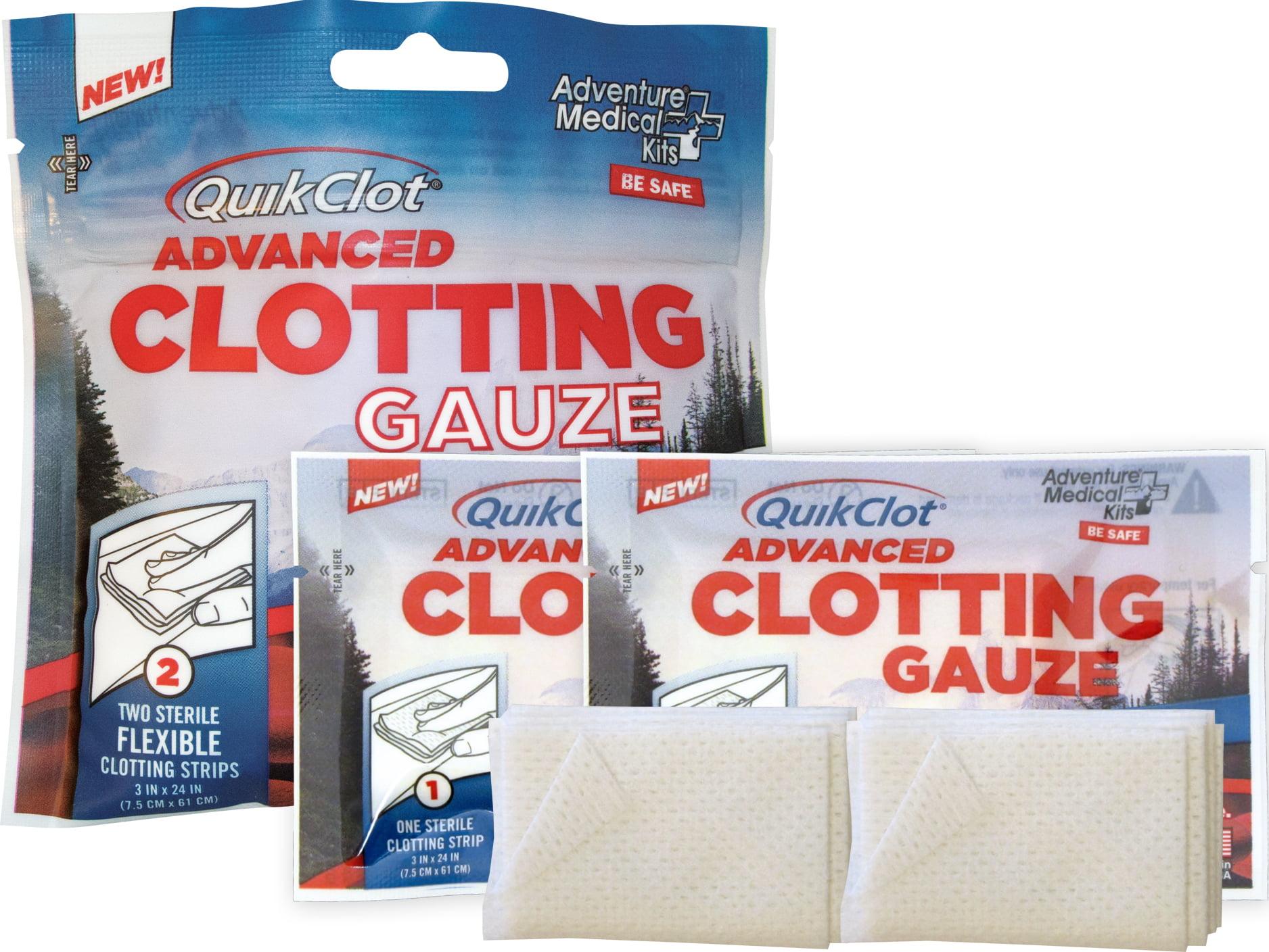 """QuikClot Advance Clotting Gauze, 3"""" x 24\ by Tender Corporation"""