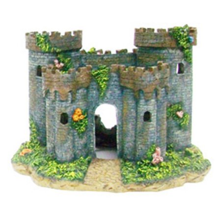 Penn Plax Medieval Castle of France Aquarium Ornament - Medium