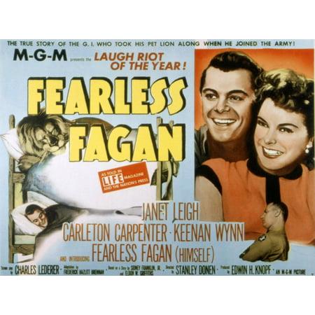 Fearless Fagan Canvas Art     28 X 22