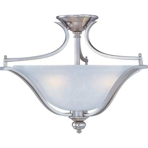 "Maxim 10171 Madera 20"" Wide 3 Light Ceiling Light"