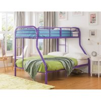 ACME Eclipse Twin/Full Bunk Bed, Black