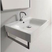 17.7 in. Bathroom Sink in White