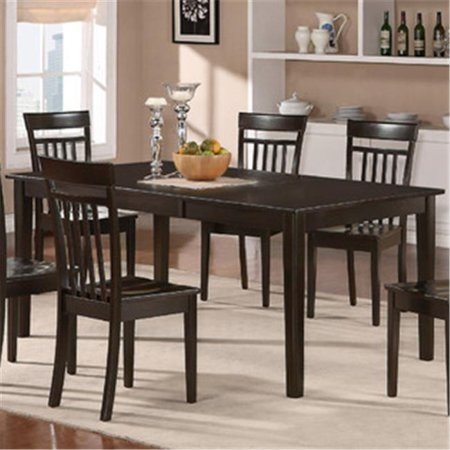 East West HT CAP T Henley Rectangular Dining Room Table 42 In X
