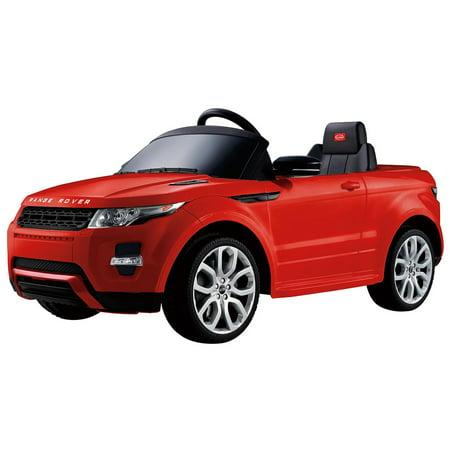 Costway Range Rover Evoque Licensed 12V Electric Kids Ride On Car Mp3 Rc Remote Control