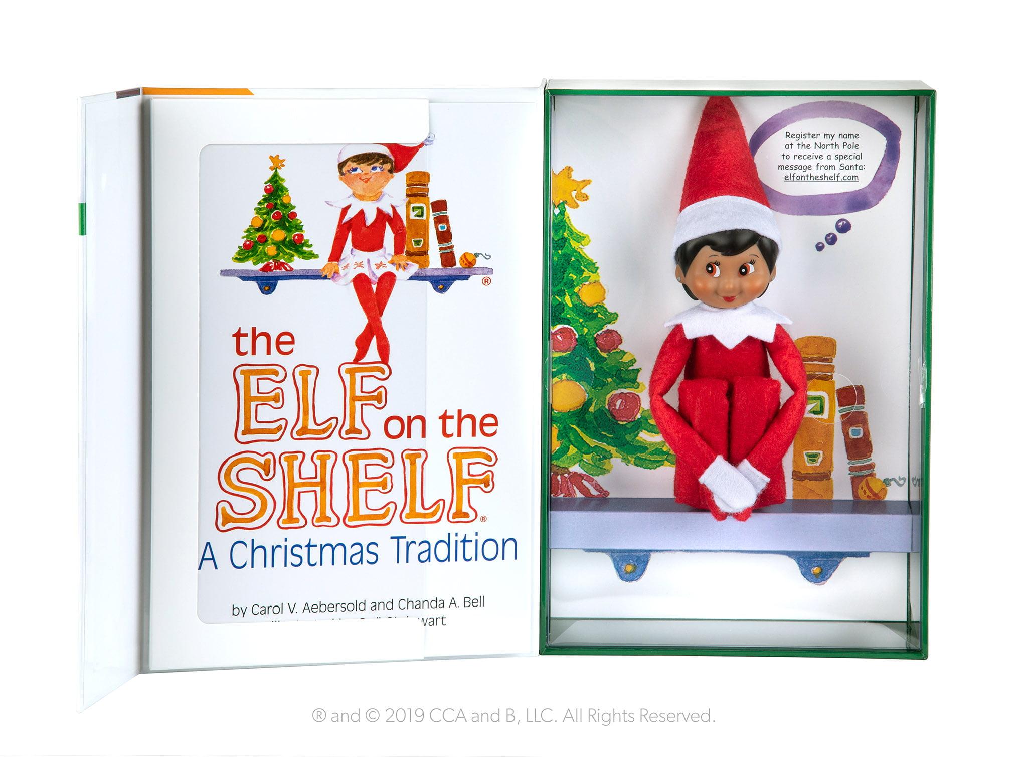 The Elf on the Shelf Girl Dark