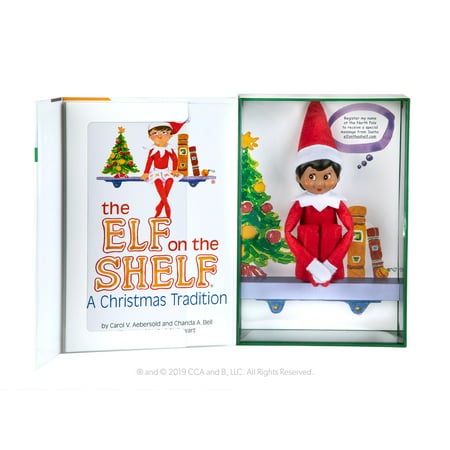 The Elf on the Shelf Girl Dark